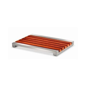 Conair Teak and Stainless Steel Bath Mat Bedding