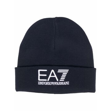 EA7 Hats Blue