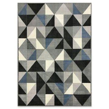 Ren-Wil Azure Kaleidoscope 5-Foot 2-Inch x 7-Foot 2-Inch Area Rug in Grey/Blue