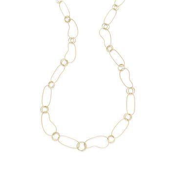 18K Classico Kidney Chain Necklace