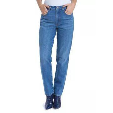 Gloria Vanderbilt Women's High Rise Straight Leg Jeans -