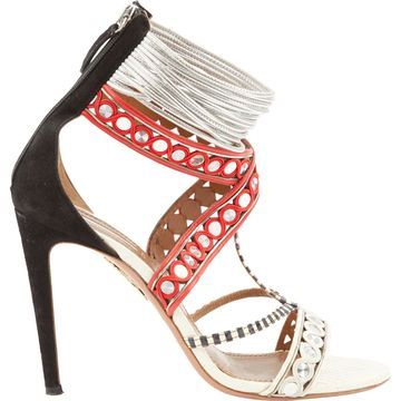 Aquazzura Multicolour Leather Heels