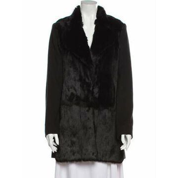 Fur Coat Black