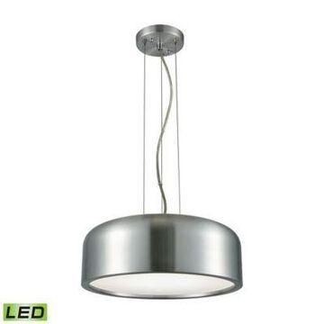 ELK Lighting Kore 1-Light LED Pendant in Aluminum