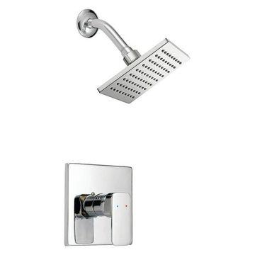 Design House Karsen Tub and Shower Faucet, Polished Chrome Finish
