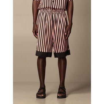 Striped Laneus jogging shorts