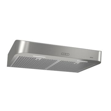 Broan 30-in Convertible Stainless Undercabinet Range Hood (Common: 30 Inch; Actual: 29.87-in)