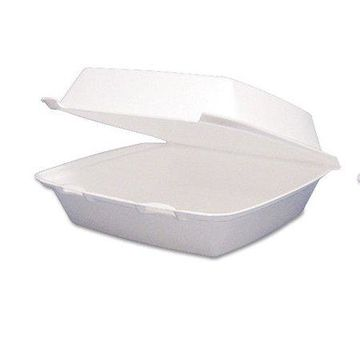 Dart Foam Hinged Carryout Food Containers, 200ct