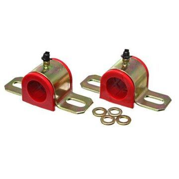 Energy Suspension 15/16in Greaseable S/B Set - Red