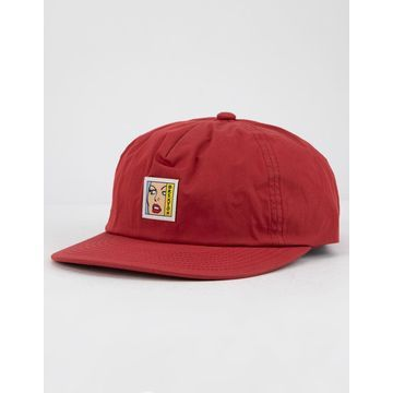 Damsel LP Burgundy Mens Strapback Hat