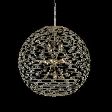 Allegri 032554041FR001 16 Light Pendant Gemini Champagne Gold - One Size (One Size - Clear)