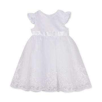 Baby Girls Organza Christening Gown
