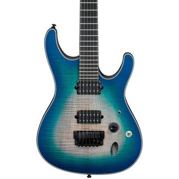 Iron Label S Series SIX6FDFM Electric Guitar Blue Space Burst
