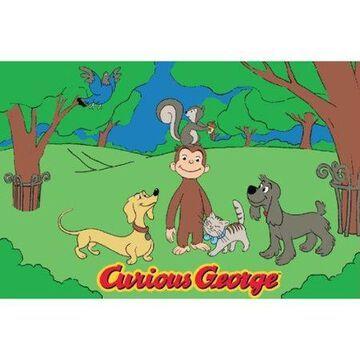 Fun Rugs Curious George & Friends 51
