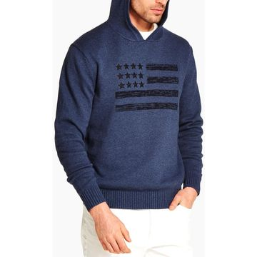 Weatherproof Vintage Mens Regular Fit Stars & Stripes Sweater