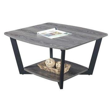 Convenience Concepts Graystone Square Coffee Table