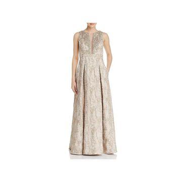 Eliza J Womens Formal Dress Metallic Embellished