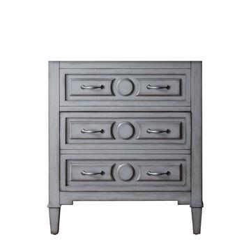 Avanity Kelly 30-in Grayish Blue Bathroom Vanity Cabinet