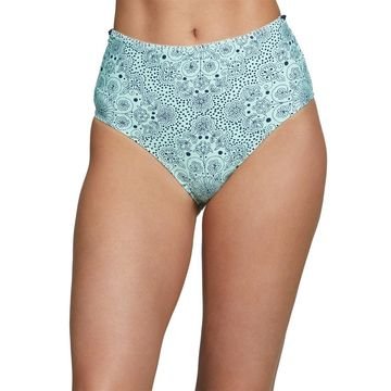 Anne Cole Mykonos Medallion High Waisted Bikini Bottom