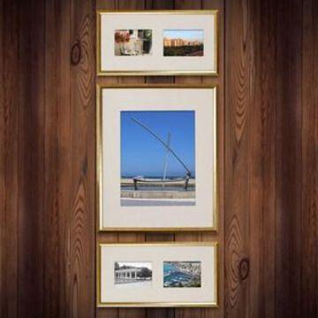 Gold 3-Piece Frame Set By Studio Decor