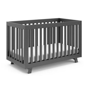 Storkcraft Beckett 3 in 1 Convertible Crib Gray