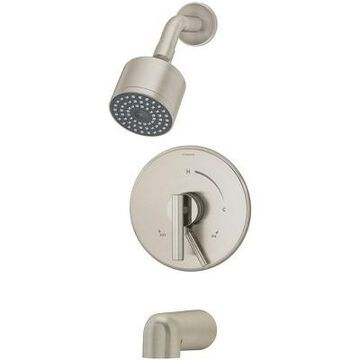 Symmons S-3502-CYL-B Dia Tub and Shower Trim Package