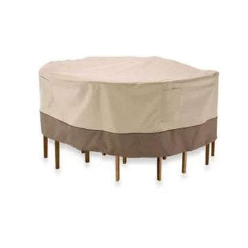 Classic Accessories Veranda Large Round Table and Chair Set Cover