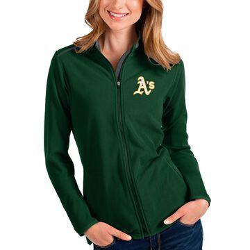 Oakland Athletics Antigua Women's Glacier Full-Zip Jacket - Green
