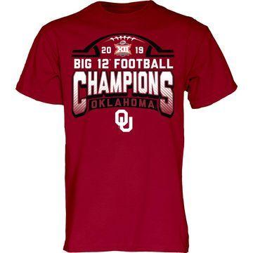 Blue 84 Men's 2019 Big 12 Conference Champions Oklahoma Sooners Locker Room T-Shirt