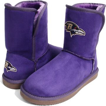 Women's Baltimore Ravens Cuce Touchdown Boots