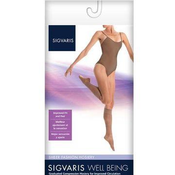 Sigvaris Women's Sheer Fashion 120 Calf 15-20mmHg