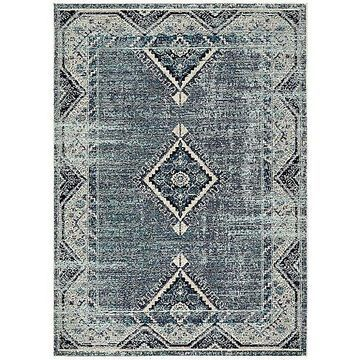 Zhara Indoor / Outdoor Area Rug by Jaipur - Color: Blue (RUG142883)