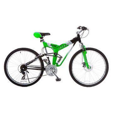 TITAN Glacier-Pro Alloy Dual-Suspension All-Terrain Mountain Bicycle, 21-Speeds, 19