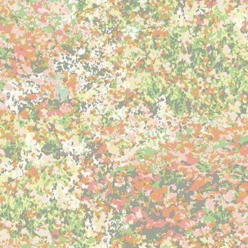 Waverly Poppy Field Wallpaper - Sherbert