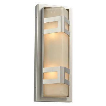 Plc Lighting 2 Light Outdoor Fixture Sasha Collection 8043 Sl