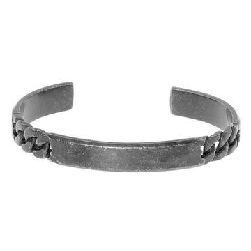Men's LYNX Stainless Steel Chain Cuff Bracelet
