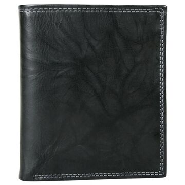 Buxton Leather Hunt Credit Card Folio Wallet