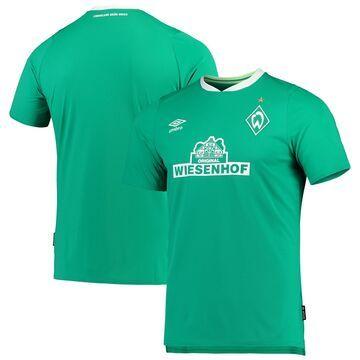 Men's Umbro Green SV Werder Bremen 2019/20 Home Replica Jersey