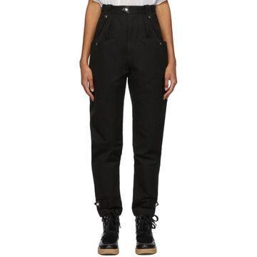 Isabel Marant Etoile Black Pulcie Trousers