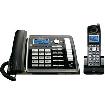 Brand New RCA 25255RE2 Dect_6.0 2-Handset 2-Line Landline Telephone