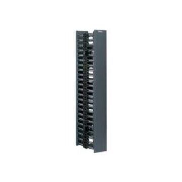 Panduit NetRunner Vertical Cable Management - 22U Single-sided ABS Pla