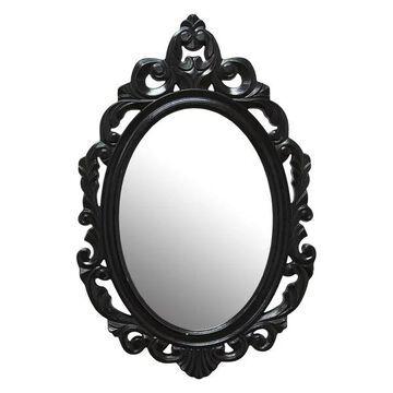 Stratton Home Decor Black Baroque, Mirror