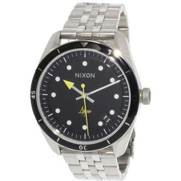 Nixon Women's Bullet 42 A12372971 Silver Stainless-Steel Japanese Quartz Fashion Watch