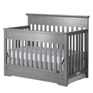 Dream On Me Chesapeake 5-in-1 Convertible Crib Storm Gray