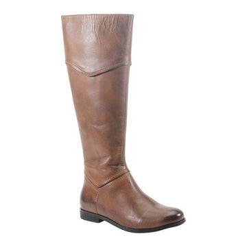 Diba True Women's Poppy Seed Knee High Boot Brown Leather