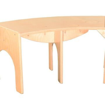 Wood Designs 991160-36W10H 10 x 36 in. Curved Bench