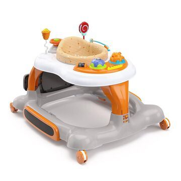 Storkcraft 3-in-1 Activity Walker and Rocker with Jumping Board and Feeding Tray -
