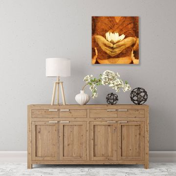 ArtWall Lotus Wood Pallet Art