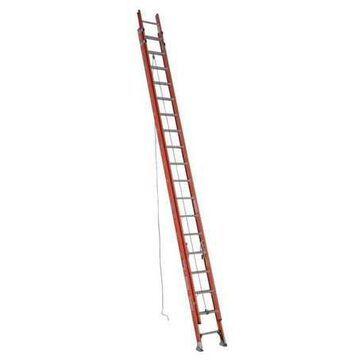 WERNER D6236-2 Extension Ladder, Fiberglass, 36 ft. , Type IA