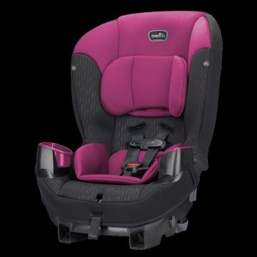 Evenflo Sonus65 Convertible Car Seat, Berry Beet